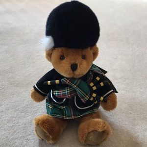 Harrods Knightsbridge Scottish Piper Bear